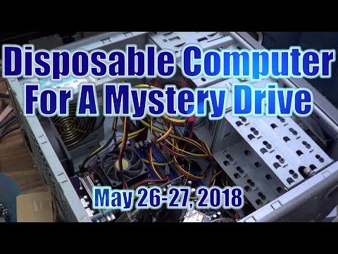 Disposable Computer For A Mystery Drive