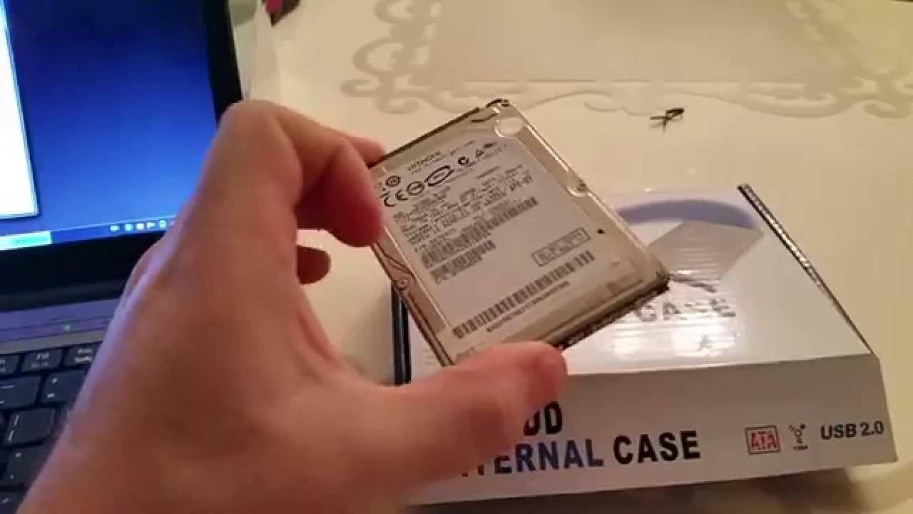 Cum adaugi orice hard disk la un laptop