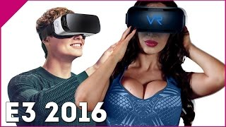 E3 PORN MASTERS AT E3 2016 NAUGHTY AMERICA VR