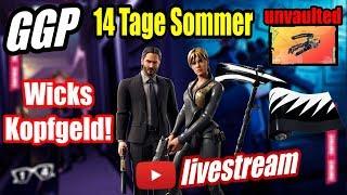 Wicks Kopfgeld LTM! | Armbrust aus dem Tresor! | Sofia Skin! | Fortnite Live 14 Tage Sommer