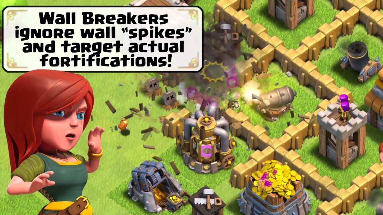 sneak peek 3 new wall breaker ai youtube