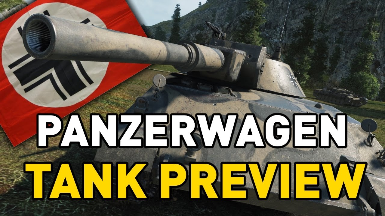 World of Tanks  Rheinmetall Panzerwagen  Tank Preview  YouTube