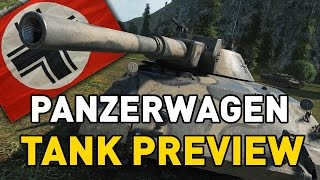 World of Tanks || Rheinmetall Panzerwagen - Tank Preview