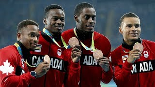 The Anatomy of the Men's 4x100 Relay, Explained by Team Canada Sprinters