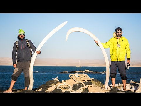 Gettin' NAKED, SKELETONS and SAND DUNES! Namibia! Sailing Vessel Delos Ep. 145