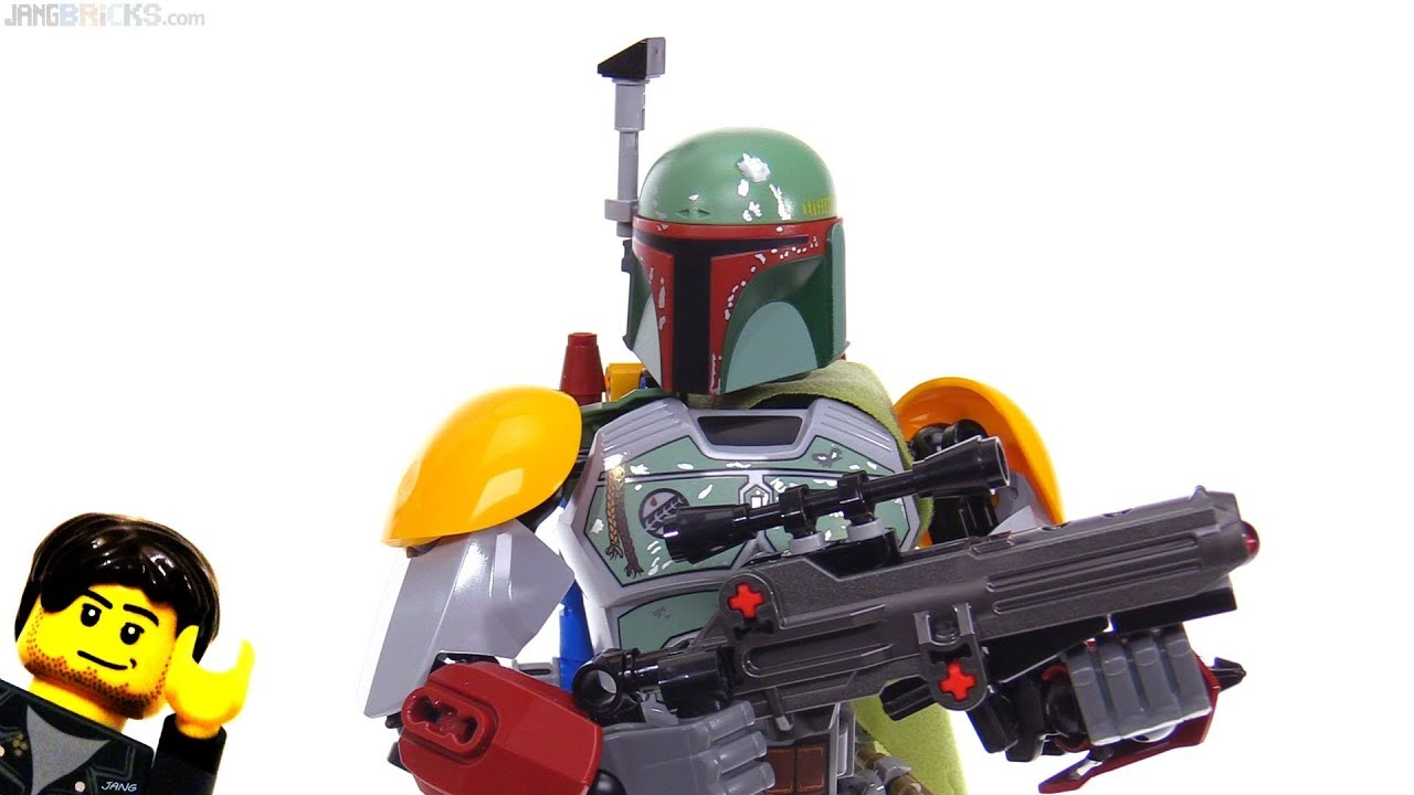 how to make a lego boba fett gun