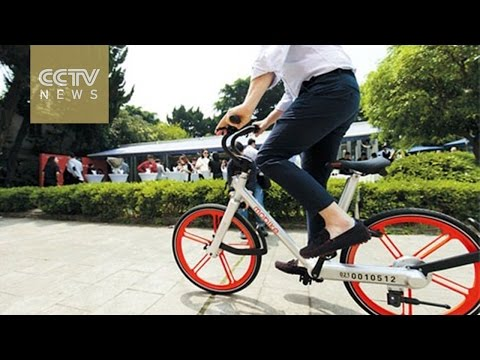 GPS-based bike rental businesses on rise in China
