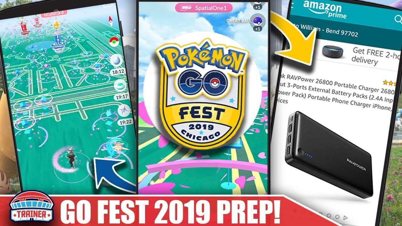 DO YOU HAVE WHAT YOU NEED FOR GO FEST? FULL EVENT ESSENTIAL PREP FOR GO FEST 2019 | POKEMON GO