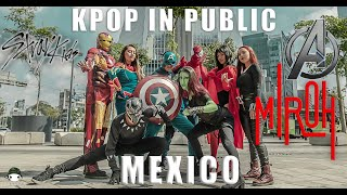 [KPOP IN PUBLIC MEXICO] Stray Kids (스트레이 키즈)-MIROH dance cover by TAGGME (Avengers parody ver.)