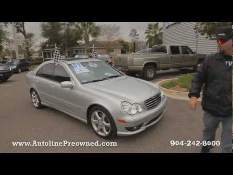 Autoline's 2007 Mercedes-Benz C-Class C230 Sport Walk Around Review Test Drive