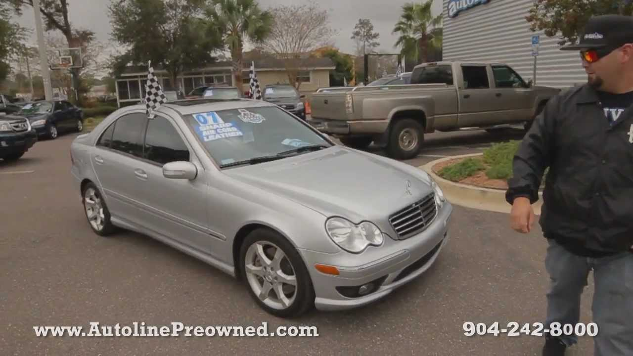 Autoline S 2007 Mercedes Benz C Cl C230 Sport Walk Around Review Test Drive You