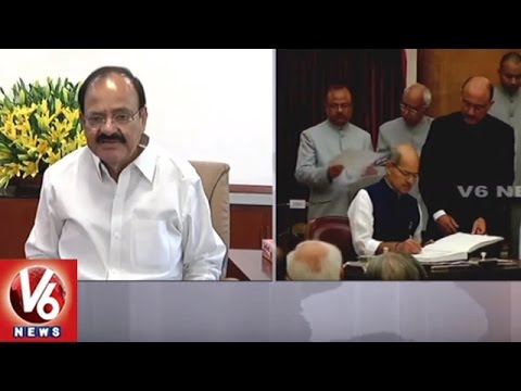 Anil Madhav Dave Death : BJP Ministers, Leaders Pay Condolence | V6 News