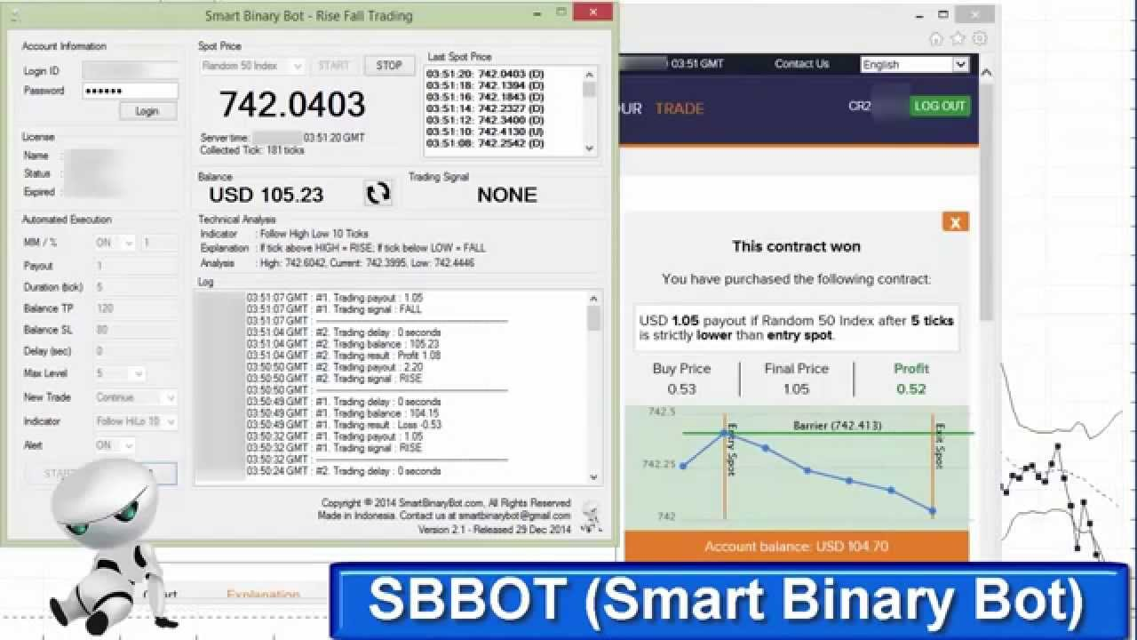 Binary option robot online software download