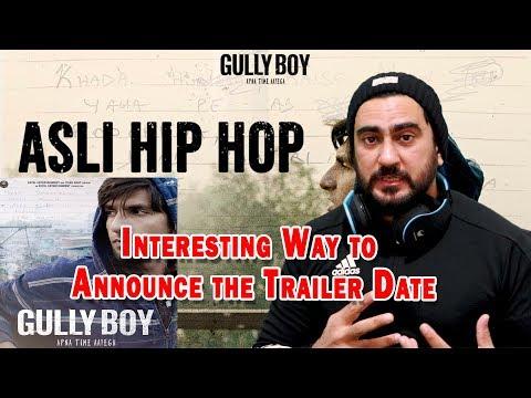 Asli Hip Hop - Gully Boy Trailer Announcement   Ranveer Singh   Alia Bhatt   Reaction