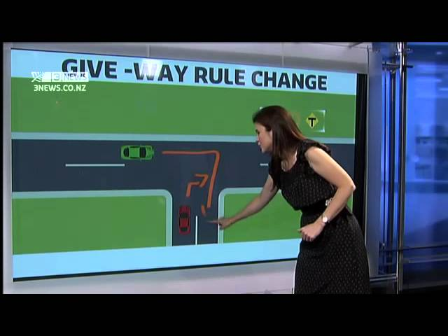 New NZ give way rules explained
