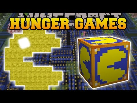 Minecraft: PACMAN HUNGER GAMES - Lucky Block Mod - Modded Mini-Game