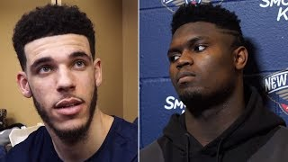 """Zion Williamson Says """"If We Dont Start Winning TRADE ME!"""" & Lonzo Ball DESTROYS HIM!"""