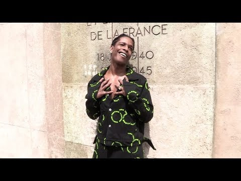 ASAP Rocky, Quincy Brown, Christian Combs and more at the Rick Owens Menswear Fashion Show in Paris