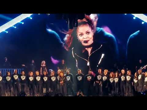 Janet Jackson...State of the World tour at Hollywood Bowl