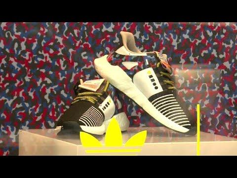 Berliner U-Bahn verkauft Sneaker im Sitzbezugsmuster
