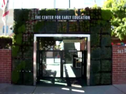 VGM living wall at the Center for Early Education, West Hollywood, CA