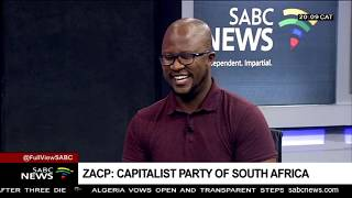 New political party ZACP launched - Katlego Mabusela