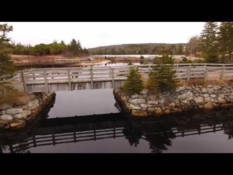 4 K - Jeddore Oyster Ponds. Scotia Droning