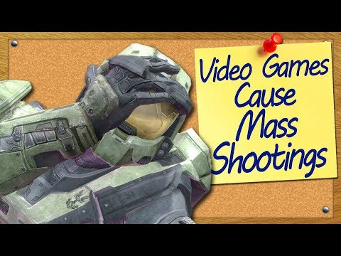 Violent Video Games Cause Mass Shootings