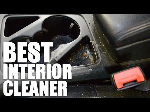 the best car interior cleaner youtube. Black Bedroom Furniture Sets. Home Design Ideas