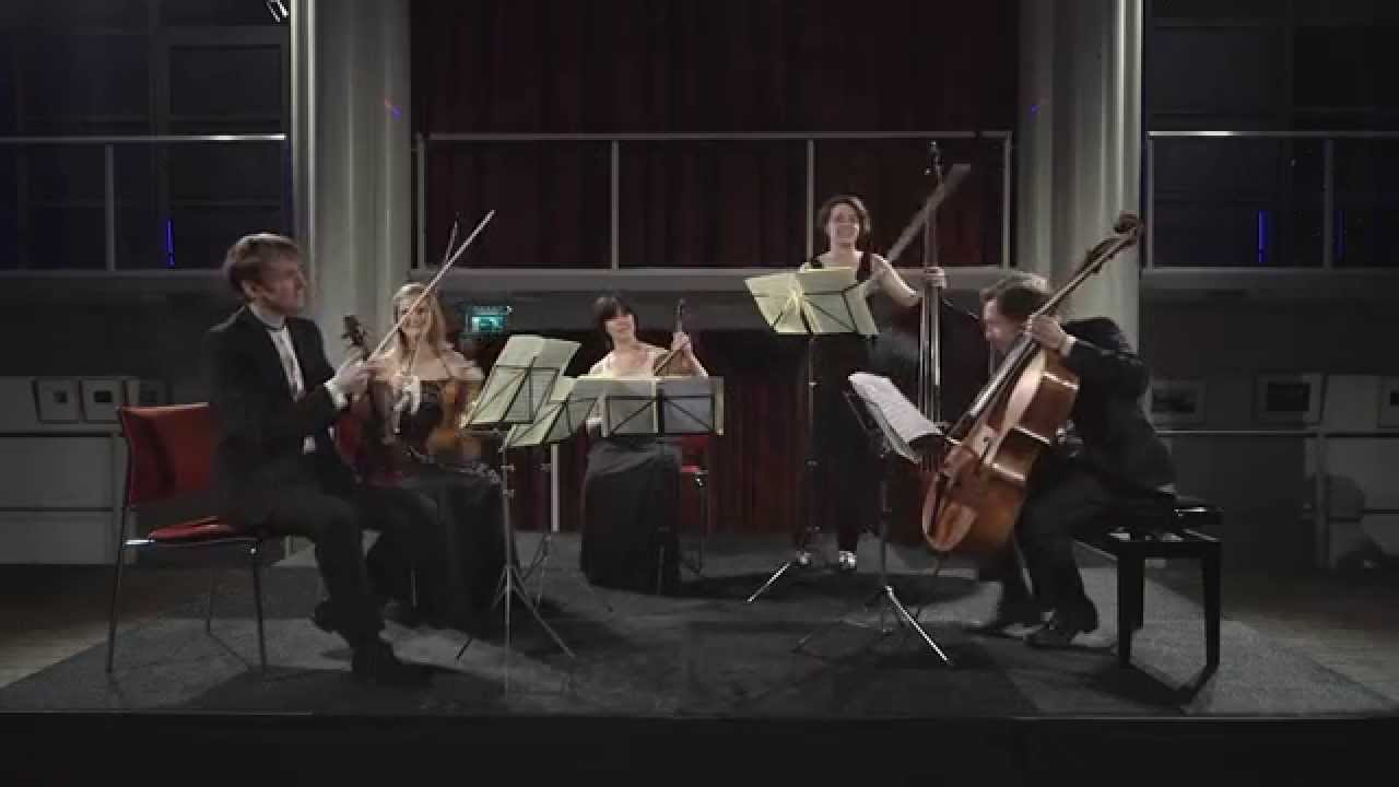 Antonin Dvorak String Quintet Op 77 G Major | Rubik Ensemble