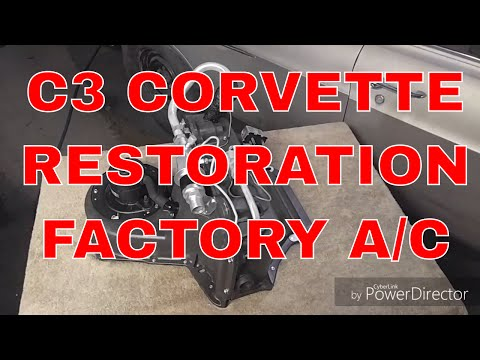 1969-72 C3 Corvette Restored Factory AC Unit