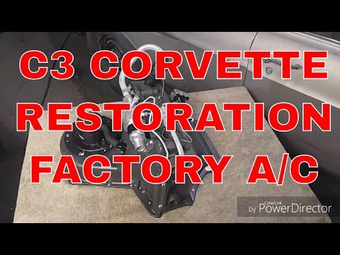 1969-72 C3 Corvette Restored Factory AC Unit