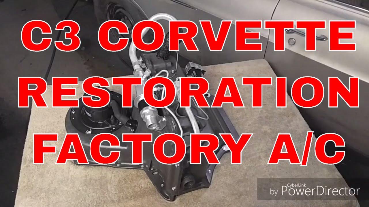 196972 C3 Corvette Restored Factory Ac Unit Youtube. 196972 C3 Corvette Restored Factory Ac Unit. Corvette. 1973 Corvette Vacuum Diagram Colors At Scoala.co