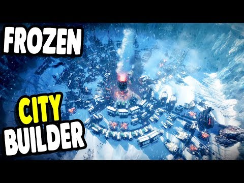 BRUTAL New CITY BUILDER In FROZEN EARTH | Frost Punk Gameplay