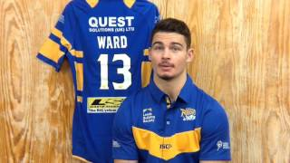 Leeds Rhinos star Stevie Ward signs new five year deal