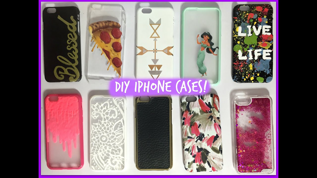 Diy iphone cases iphone 6 case collection updated for Homemade iphone case