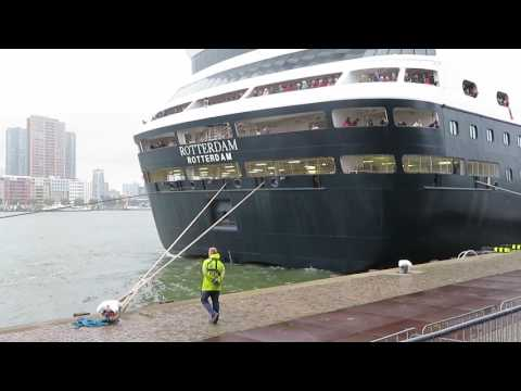 MS Rotterdam departing 1
