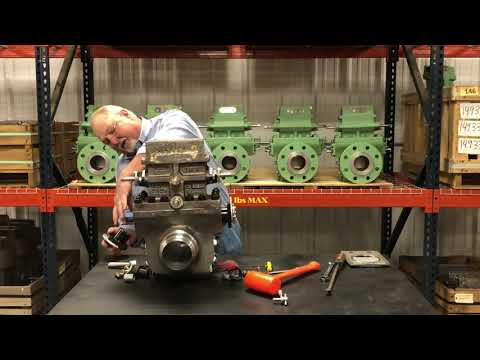 Large Diameter Teflon Swap: Learn how to remove or change the eccentric plug and the lower gear shaft in a TMCO's 8-inch dual chamber fitting and larger.