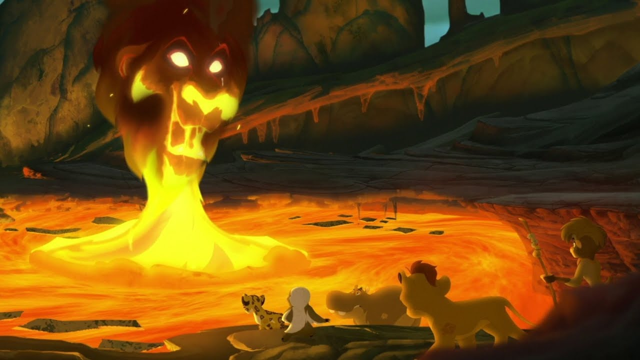the lion guard meet scar the scorpion s sting hd clip youtube