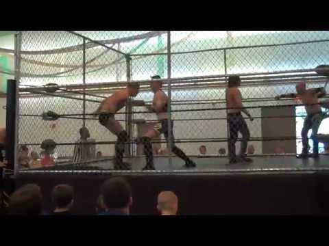 FWF (8/11/13): Fatal 4 Way Cruiserweight Championship Steel Cage Match