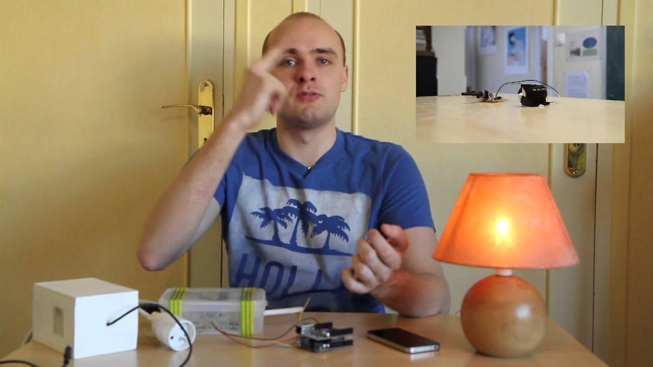 Domotique un web gradateur de lumi re youtube - Installer un variateur de lumiere ...
