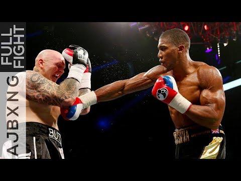 Full Fight | AJ Vs Paul Butlin TKO