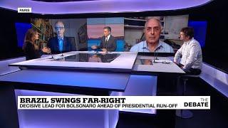 Brazil swings far-right: decisive lead for Bolsonaro ahead of presidential run-off