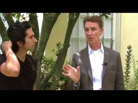 Bill Nye interview [Be Skeptical]