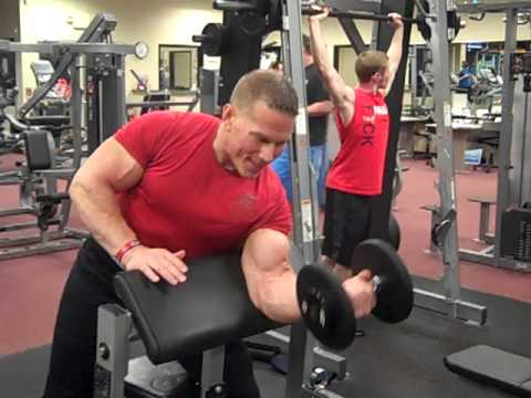 Bicep workout for gain