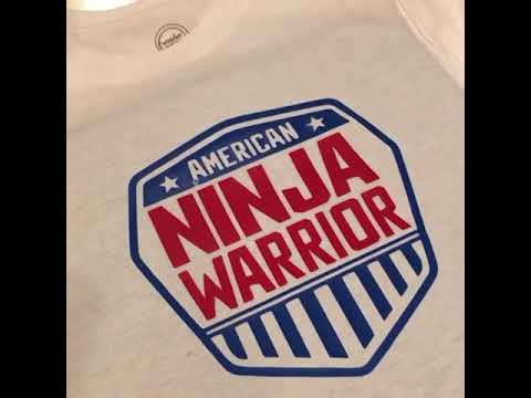 5e95f4df3a7 American Ninja Warrior Birthday Ideas with the Cricut