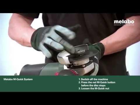 Metabo Grinder M-Quick System