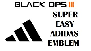 Video Adidas Logo Call Of Duty Black Ops 3 Emblem Editor download MP3, 3GP, MP4, WEBM, AVI, FLV Juni 2018