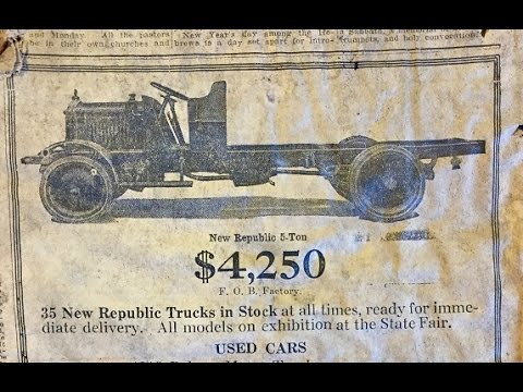 1917 Newspaper Found In Syracuse Walls