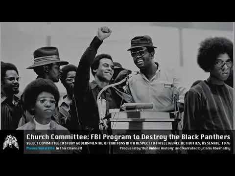 US Senate - Church Committee Hearings [1975]:  FBI Program to Destroy The Black Panthers B3 S3